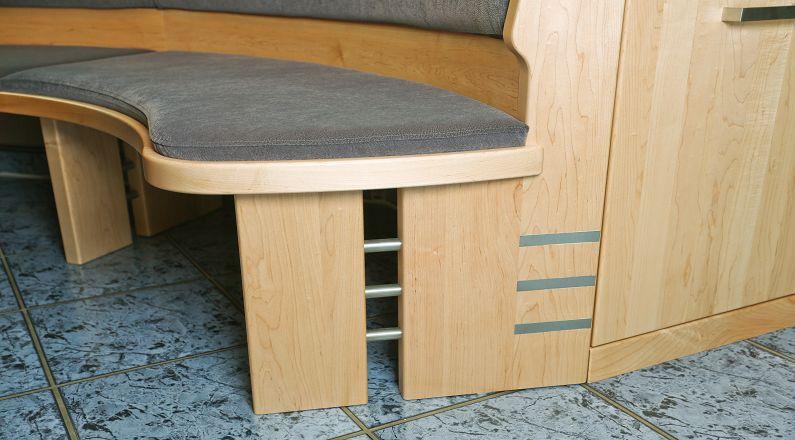 Detail Sitzbank