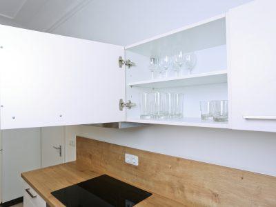 Küchenzeile in weiß