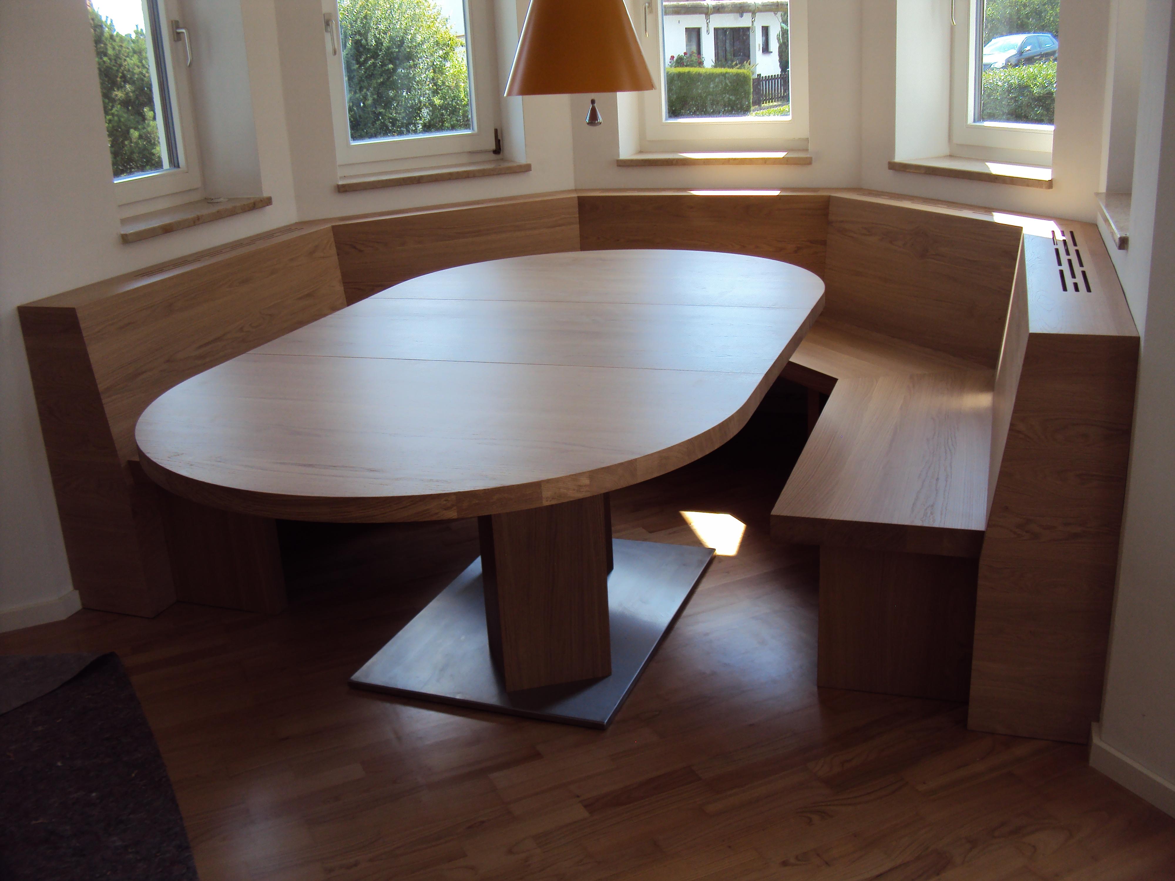 eckbank aus eiche schreinerei birkner. Black Bedroom Furniture Sets. Home Design Ideas